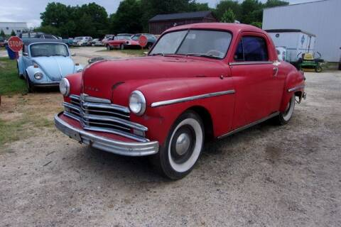 1949 Plymouth Business Coupe for sale at Classic Cars of South Carolina in Gray Court SC