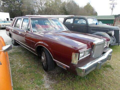 1985 Lincoln Town Car for sale at Classic Cars of South Carolina in Gray Court SC