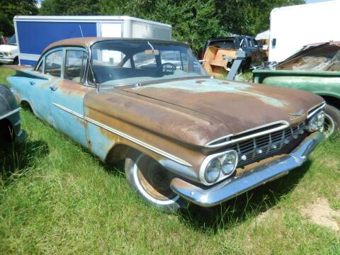 1959 Chevrolet Biscayne for sale at Classic Cars of South Carolina in Gray Court SC