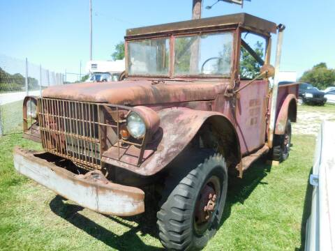 1953 Dodge M37 Power Wagon for sale at Classic Cars of South Carolina in Gray Court SC