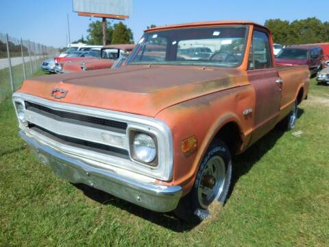 1970 Chevrolet C/K 10 Series for sale at Classic Cars of South Carolina in Gray Court SC