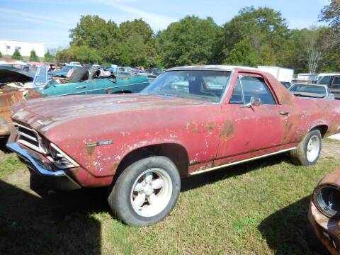 1969 Chevrolet El Camino for sale at Classic Cars of South Carolina in Gray Court SC