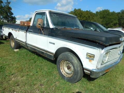 1972 Chevrolet C/K 10 Series for sale at Classic Cars of South Carolina in Gray Court SC