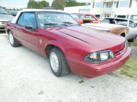 1993 Ford Mustang for sale at Classic Cars of South Carolina in Gray Court SC