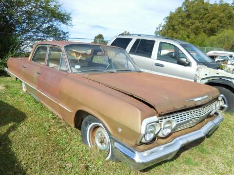 1963 Chevrolet Bel Air for sale at Classic Cars of South Carolina in Gray Court SC