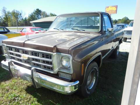 1978 Chevrolet Silverado 1500 SS Classic for sale at Classic Cars of South Carolina in Gray Court SC