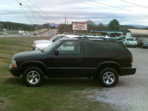 2002 Chevrolet Blazer for sale at CAR-MART AUTO SALES in Maryville TN