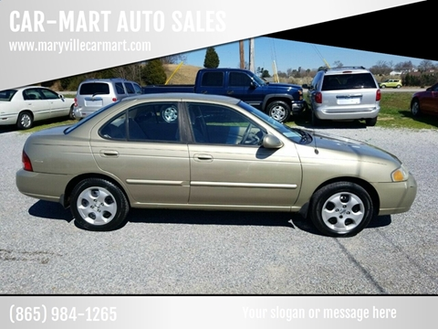 2003 Nissan Sentra for sale at CAR-MART AUTO SALES in Maryville TN