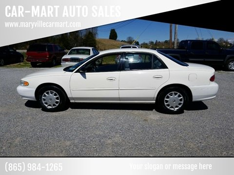 2003 Buick Century for sale at CAR-MART AUTO SALES in Maryville TN