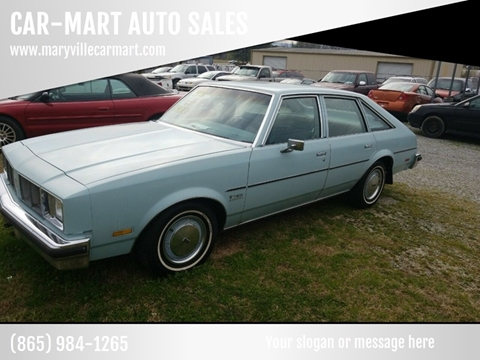 1978 Oldsmobile Cutlass Salon for sale at CAR-MART AUTO SALES in Maryville TN