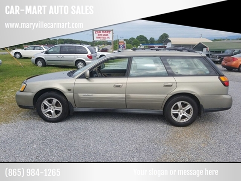 2004 Subaru Outback for sale at CAR-MART AUTO SALES in Maryville TN