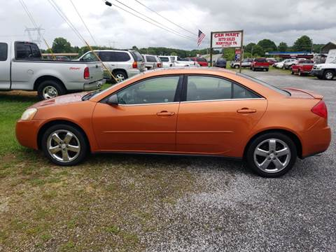 2005 Pontiac G6 for sale at CAR-MART AUTO SALES in Maryville TN