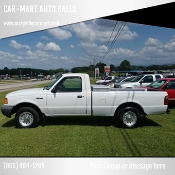 2001 Ford Ranger for sale at CAR-MART AUTO SALES in Maryville TN