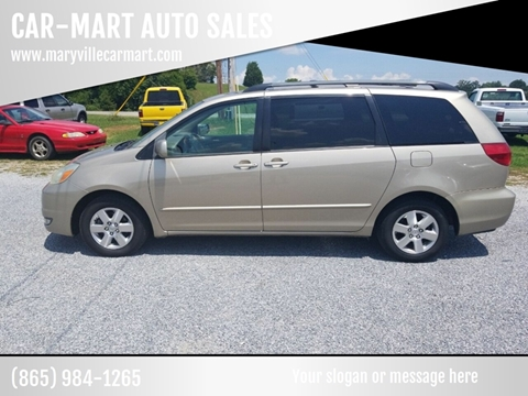 2004 Toyota Sienna for sale at CAR-MART AUTO SALES in Maryville TN