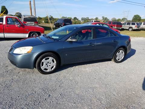 2006 Pontiac G6 for sale at CAR-MART AUTO SALES in Maryville TN