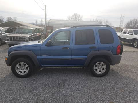 2004 Jeep Liberty for sale at CAR-MART AUTO SALES in Maryville TN