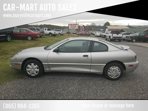 2005 Pontiac Sunfire for sale at CAR-MART AUTO SALES in Maryville TN
