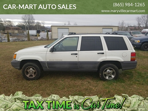 1998 Jeep Grand Cherokee for sale at CAR-MART AUTO SALES in Maryville TN