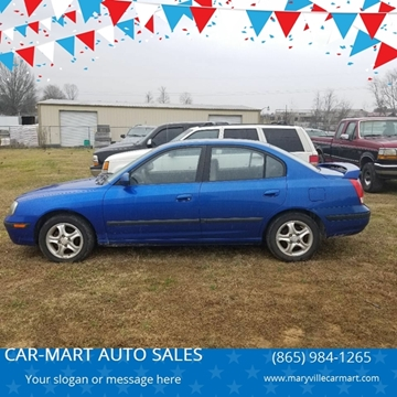 2003 Hyundai Elantra for sale at CAR-MART AUTO SALES in Maryville TN