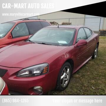2004 Pontiac Grand Prix for sale at CAR-MART AUTO SALES in Maryville TN