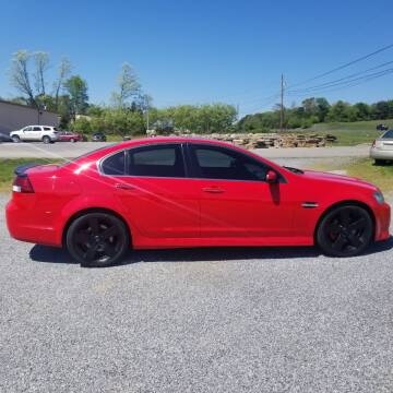 2009 Pontiac G8 for sale at CAR-MART AUTO SALES in Maryville TN