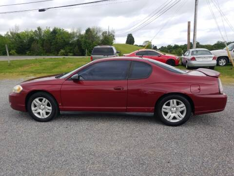 2006 Chevrolet Monte Carlo for sale at CAR-MART AUTO SALES in Maryville TN