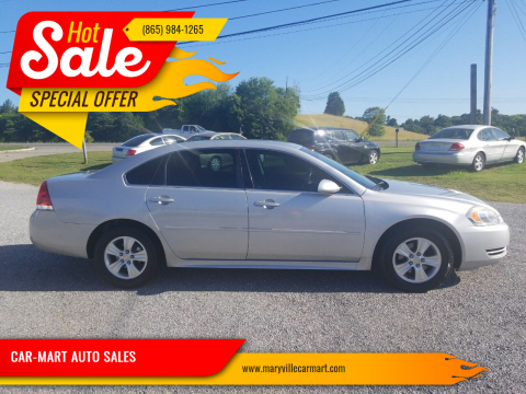 2013 Chevrolet Impala for sale at CAR-MART AUTO SALES in Maryville TN