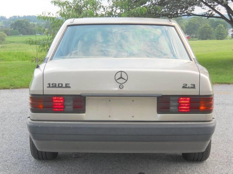 1993 Mercedes-Benz 190-Class 190 E 2.3 4dr Sedan In Bowmansville ...