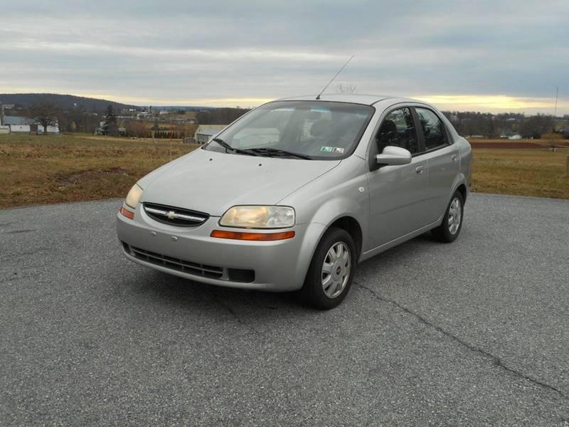 2005 Chevrolet Aveo Lt 4dr Sedan In Bowmansville Pa Bowmansville
