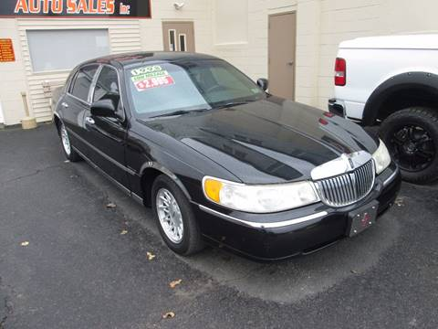 1998 Lincoln Town Car for sale in Hazleton, PA