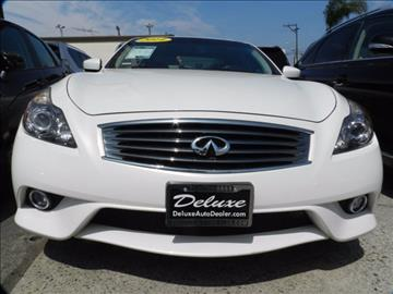 2014 Infiniti Q60 Coupe for sale in Midway City, CA