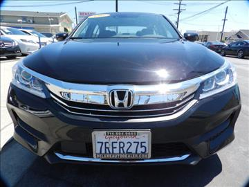 2016 Honda Accord for sale in Midway City, CA