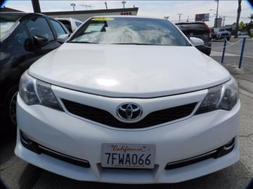 2014 Toyota Camry for sale in Midway City, CA