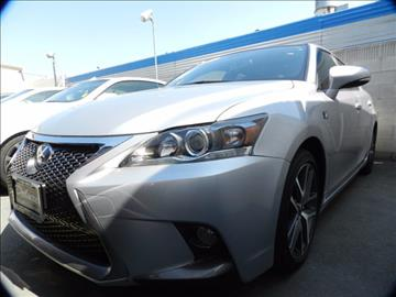 2015 Lexus CT 200h for sale in Midway City, CA