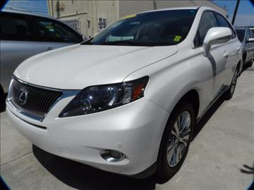 2012 Lexus RX 450h for sale in Midway City, CA