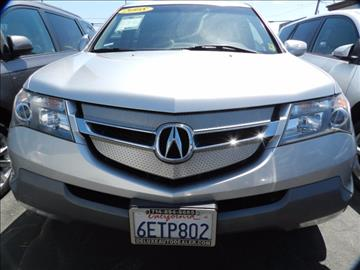 2008 Acura MDX for sale in Midway City, CA