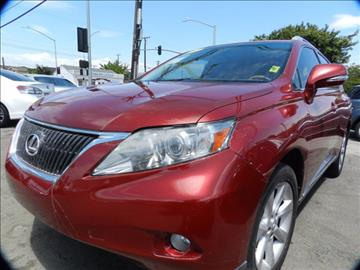 2012 Lexus RX 350 for sale in Midway City, CA