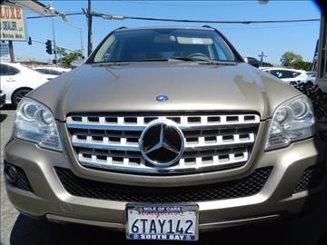 2010 Mercedes-Benz M-Class for sale in Midway City, CA