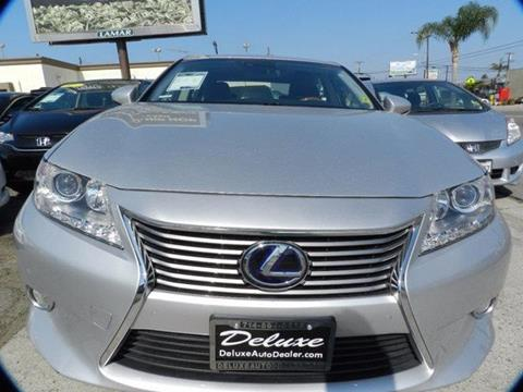2013 Lexus ES 300h for sale in Midway City, CA