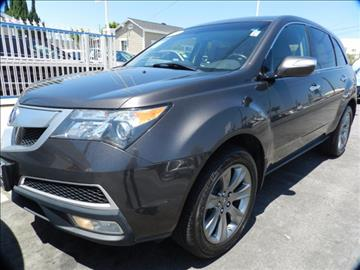 2010 Acura MDX for sale in Midway City, CA