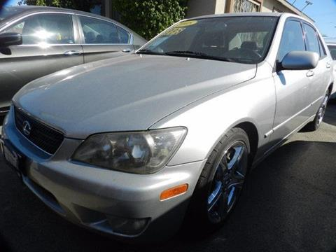 2005 Lexus IS 300 For Sale In Midway City, CA