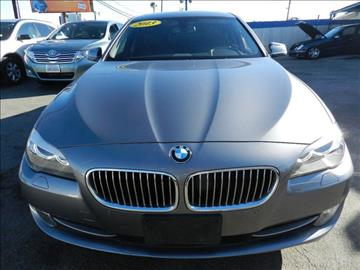 2013 BMW 5 Series for sale in Midway City CA