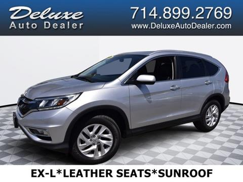 2016 Honda CR-V for sale in Midway City, CA