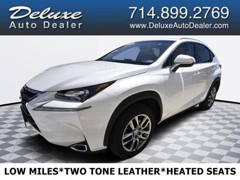 2016 Lexus NX 200t for sale in Midway City, CA