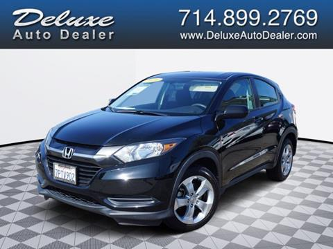 2016 Honda HR-V for sale in Midway City, CA