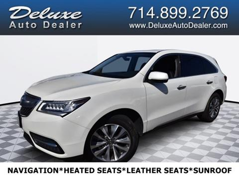 2016 Acura MDX for sale in Midway City, CA