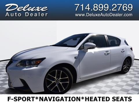 Lexus Ct200h F Sport For Sale >> 2017 Lexus Ct 200h For Sale In Midway City Ca