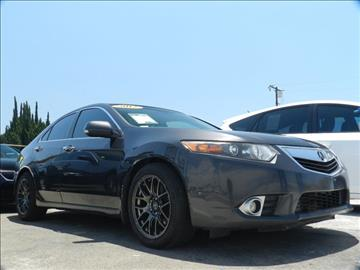 2012 Acura TSX for sale in Midway City, CA