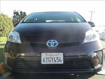2013 Toyota Prius for sale in Midway City, CA