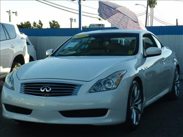 2009 Infiniti G37 Convertible for sale in Midway City, CA